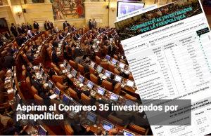 Colombian voters´s guide provides a convenient link to connect congressional candidates with Supreme Court investigations into political connections with armed, illegal groups.